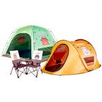 이마트, 카카오프렌즈 캠핑용품 8종 한정 판매