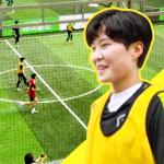 겁도 없이 지소연에게 도전장을 건넨 팀은?? (feat. 국가대표의 풋살) | SSGPLAY X 여자 축구 국가대표 EP.1