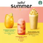 스타벅스, 여름 휴양지 석양 닮은 '스타벅스 파인애플 선셋 아이스 티' 출시