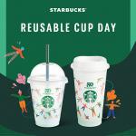 스타벅스, 9월 28일 하루 전국 매장에서 다회용 컵에 음료 제공